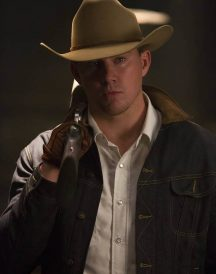 Statesman Secret Agent Kingsman 2 Channing Tatum Jeans Jacket