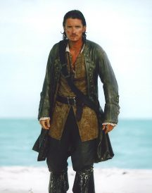 Will Turner Pirates of the Caribbean 5 Orlando Bloom Trench Coat
