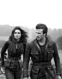 David Beckham Steve Mcqueen Coat For Men and Women