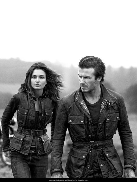 David Beckham Steve Mcqueen Coat For Men and Women
