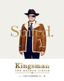Kingsman Colin Firth Brown Cotton Coat