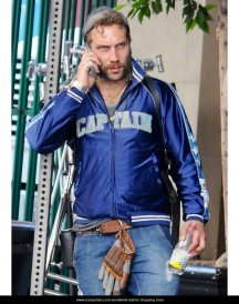 Captain Boomerang Blue Bomber Jacket 1