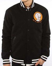 Mishka The Casper Varsity Jacket in Black