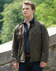 Freddie Stroma Time After Time Leather Jacket