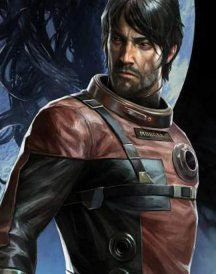 Prey Game Red Leather Jacket