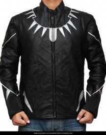 Black Panther Costume Jacket