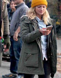 Brittany Snow Bushwick Coat jacket