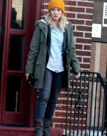 Brittany Snow Coat jacket Bushwick
