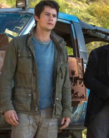 Dylan-O-Brien Gray Jacket Maze Runner The Death Cure