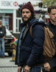 Dylan O'Brien American Assassin blue Jacket
