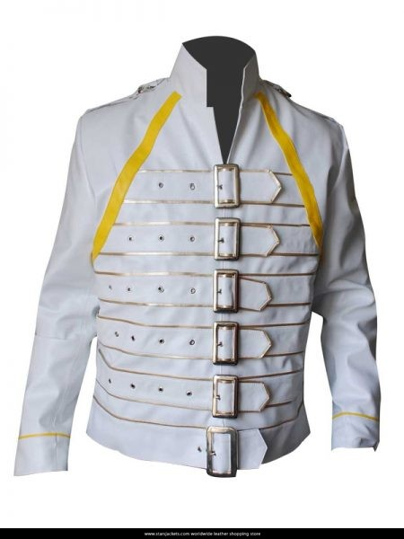 Freddie-Mercury-White-Leather-Jacket