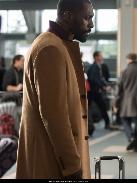 Idris Elba The Mountain Between Us Coat Jacket