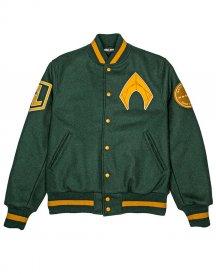Justice league Aquaman Varsity Style letterman Jacket