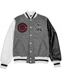 Justice league Cyborg Varsity Style letterman Jacket