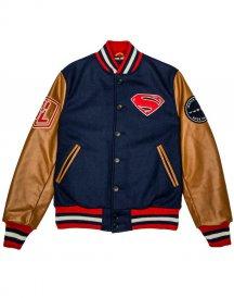 Justice league Superman Varsity Style letterman Jacket