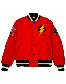 Justice league The Flash Varsity Style letterman Jacket