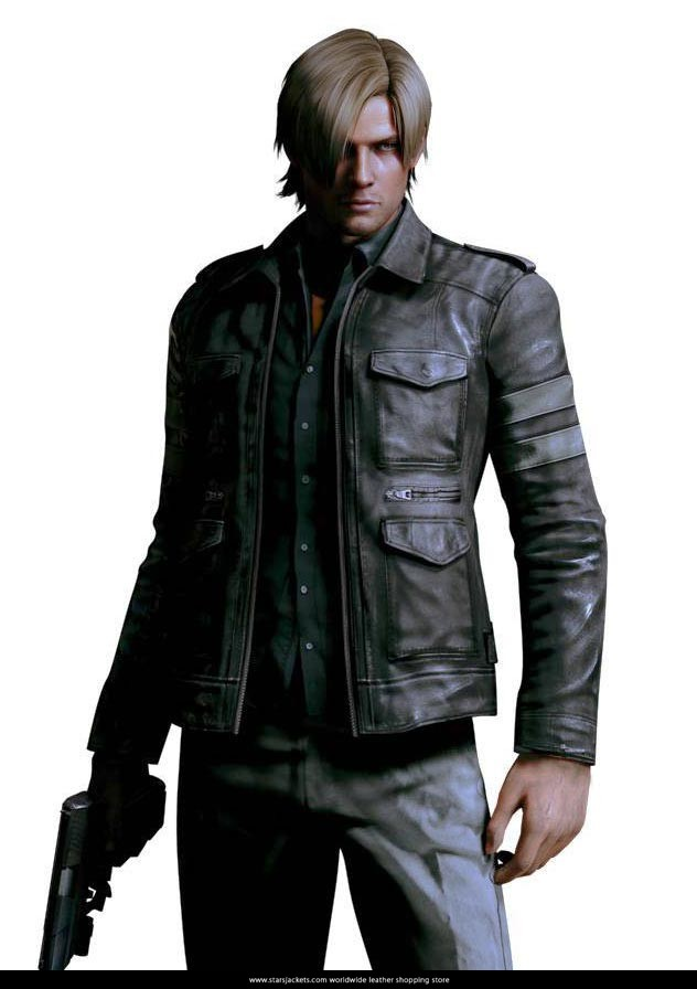 Leon S Kennedy Resident Evil 6 Leather Jacket