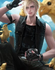 Prompto from sakimichan