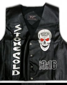 Stone Cold Steve Austin 3-16 Skull Vest