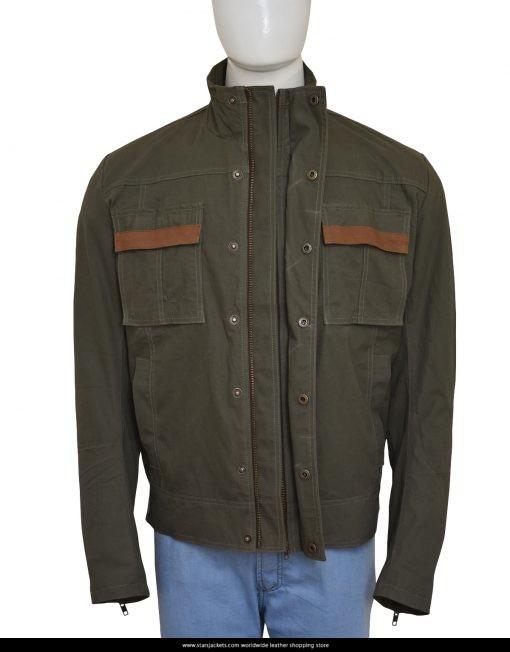 Uncharted 4 Nathan Drake Green Cotton Jacket