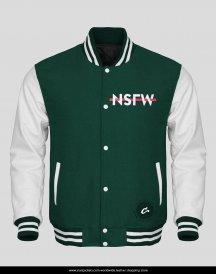 white-leather-sleeves-green-wool-varsity-jacket