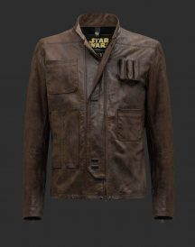 Han Solo Leather Jacket Mens