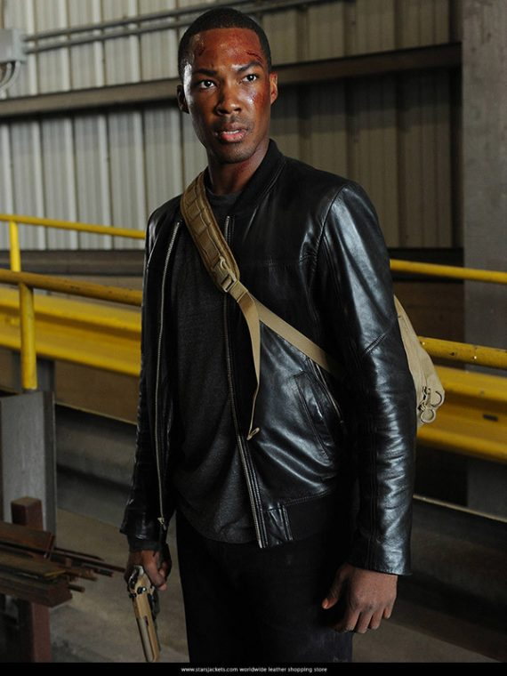 24-Legacy-Corey-Hawkins-Leather-Jacket