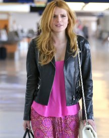 Bella-Thorne-Valentine-Day-Leather-Jacket