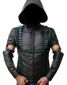 The-Green-Arrow-Leather-Jacket