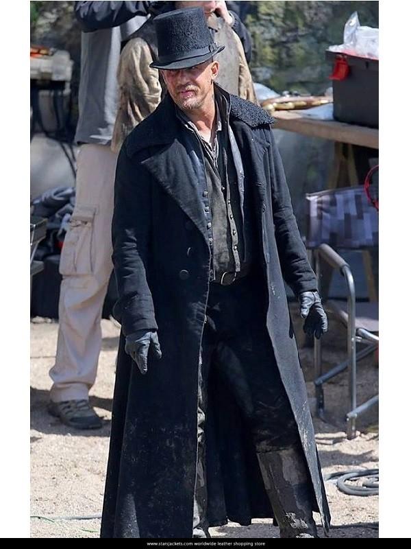 af352a8d0 Taboo Tv Series Tom Hardy Coat For Man