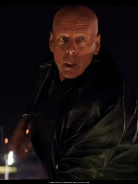 Bruce Willis Acts of Violence jacket