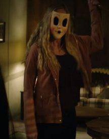 Emma Bellomy The Strangers Prey at Night Brown Cotton jacket