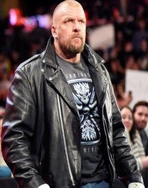 WWE TRiple H Black Jacket