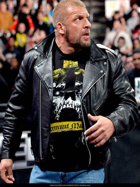 WWE TRiple H Black Jacket