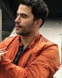 Ignacio Serricchio Jacket in Lost in Space