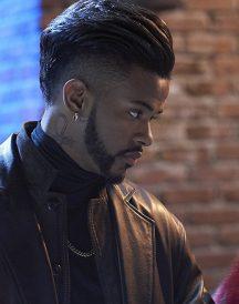 Trevor Jackson black Coat in Superfly
