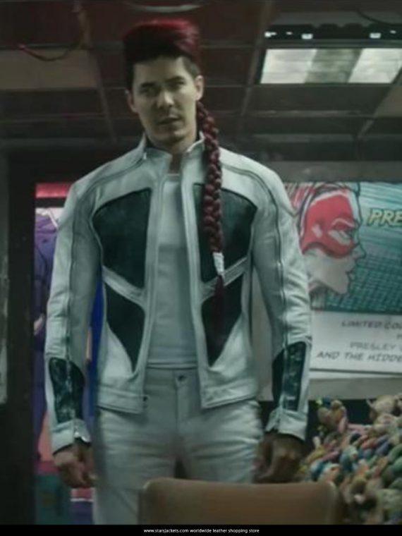 Lewis Tan as Shatterstar White Jackets in Deadpool 2