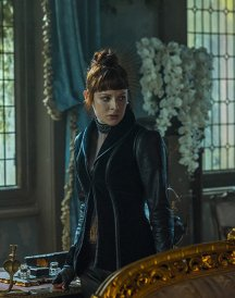 The Widow Jacket Into The Bedlands Emily Beecham