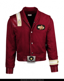 Captain Kirk Star Trek The Final Frontier Bomber Jacket Is Available With Free Shipping World Wide Get Your Jacket Today