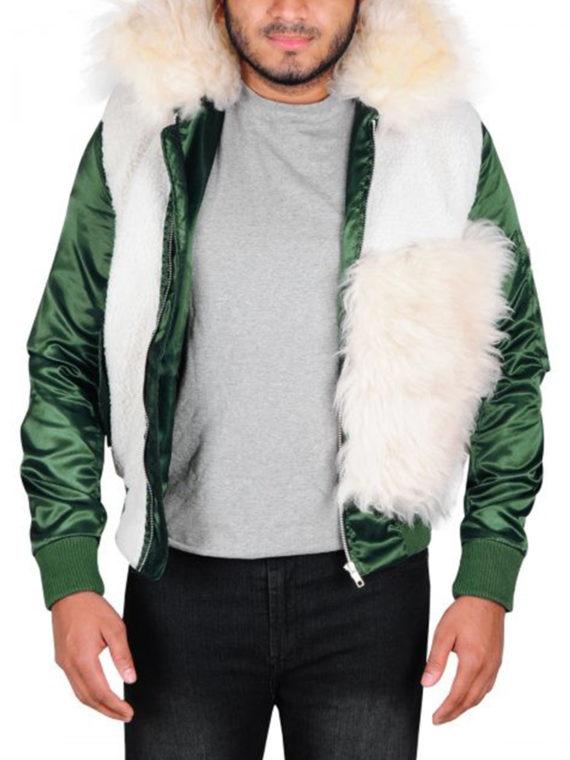 Vin Diesel Xxx Fur Jacket