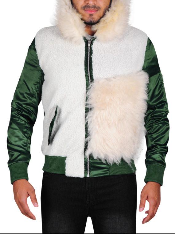 Vin Diesel Xxx Premiere Fur Jacket