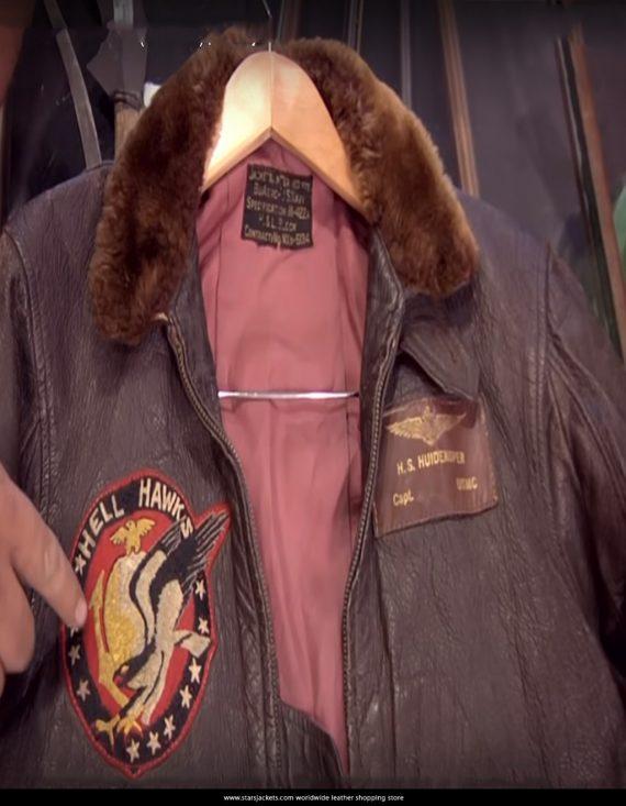 WWII Hell Hawks Bomber Jacket Season 7