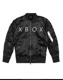 x box leather jacket