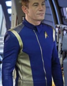 Star Trek Discovery Blue Leather Jacket1