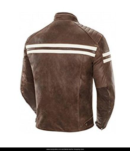 Joe Rocket Classic 92 Brown Leather Jacket