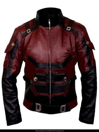 Daredevil Vol 2 Red Leather Jacket