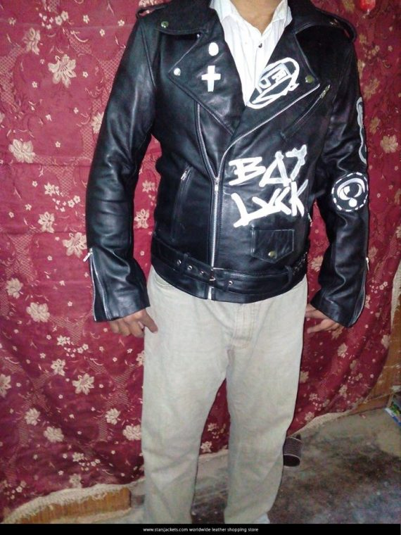 Jesse Rutherford The Neighbour hood Bad Luck Leather Jacket