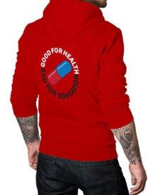 Akira Red Hoodie Kaneda Sweatshirt