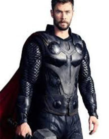 Avengers Infinity War Thor Leather Jacket