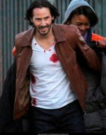 Common John Wick 2 Brown Leather Jacket